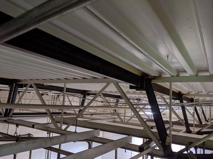 Erected And Welded Steel Reinforcements for Ceiling Joists